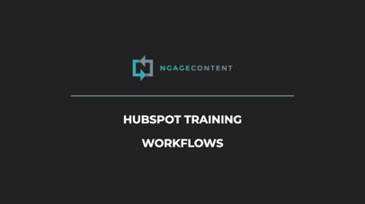 HubSpot Training Workflows